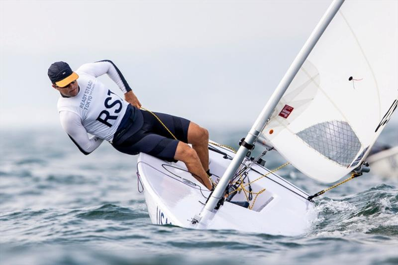 Chris Barnard, US Sailing Team Men's Laser - Ready Steady Tokyo day 2 photo copyright Pedro Martinez / Sailing Energy / World Sailing taken at  and featuring the Laser class