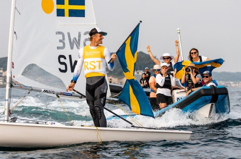 Jesper Stalheim (SWE) - Ready Steady Tokyo, day 6 - photo © Pedro Martinez / Sailing Energy / World Sailing