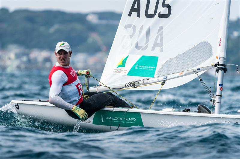 Matt Wearn (Laser). Australian Sailing Team competing at Ready Steady Tokyo (Olympic Test Event) in Enoshima, Japan. - photo © Beau Outteridge