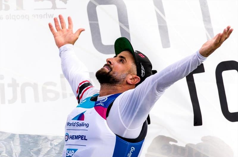 Trinidad and Tobago's Andrew Lewis - 2020 Hempel World Cup Series Miami - photo © Sailing Energy / World Sailing