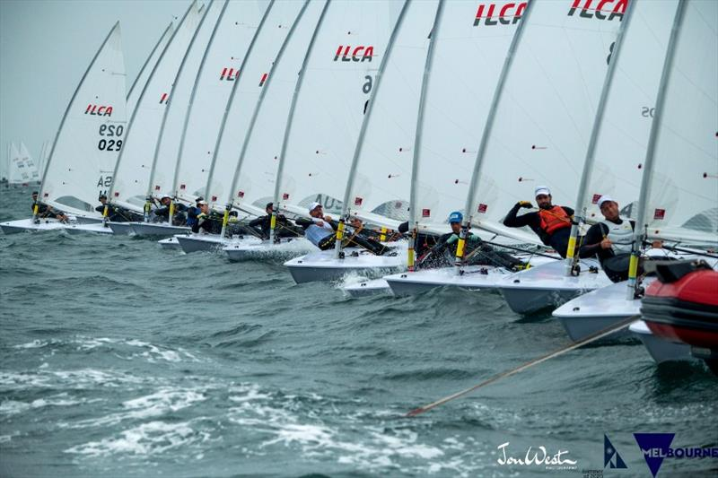 2020 ILCA Laser Standard World Championship - Day 5 - photo © Jon West Photography