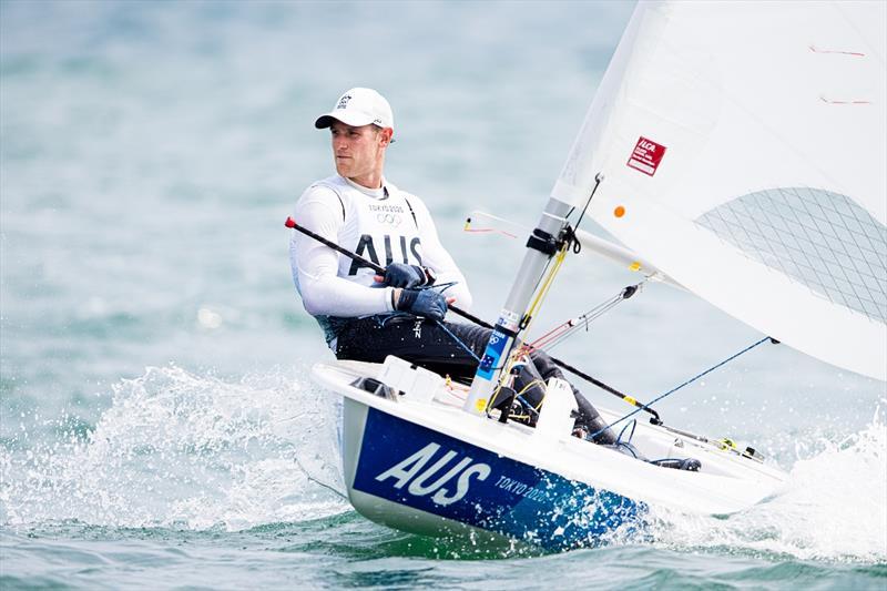 Matt Wearn wins Gold at Tokyo Games - photo © Sailing Energy World Sailing