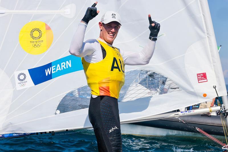 2020 (21) Olympic Games - ILCA7 Gold Medallist - Matt Wearn AUS - photo © Sailing Energy / World Sailing