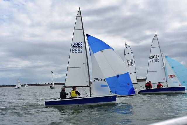 2000 Millennium Series Round 6 at Stone Sailing Club