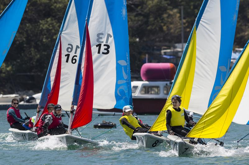 HK Interschools Sailing Festival 2018 - photo © RHKYC / Guy Nowell