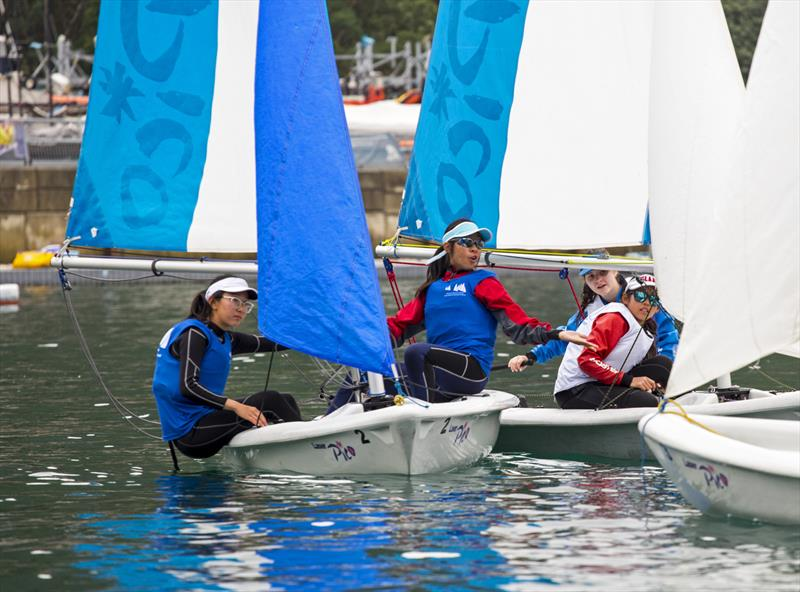 What, me? Boase Cohen & Collins Interschool Sailing Festival 2019 - photo © RHKYC / Guy Nowell