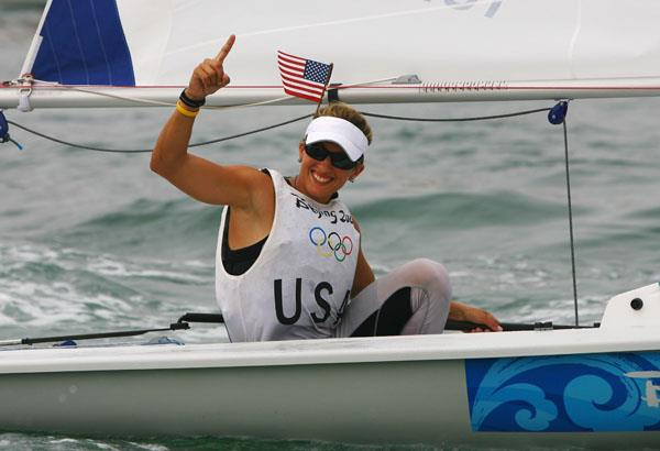 Anna Tunnicliffe is set to return at Sailing World Cup Miami - photo © Clive Mason / Getty Images
