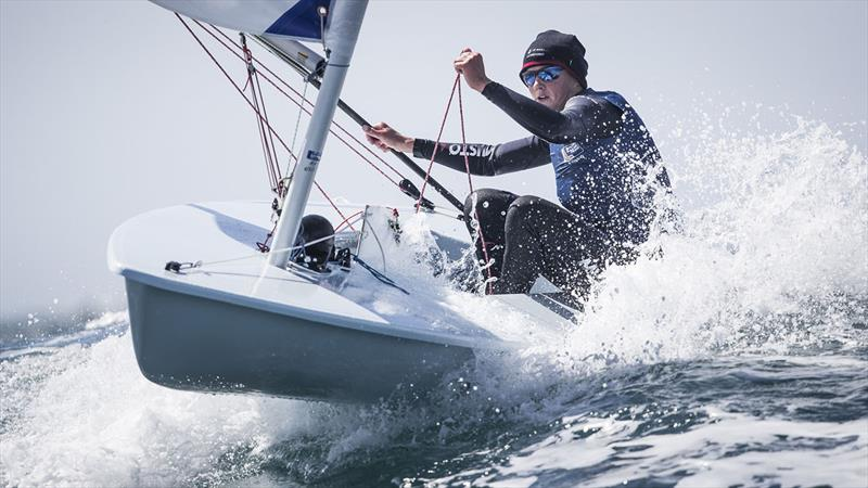 Alison Young, Laser Radial - photo © Lloyd Images