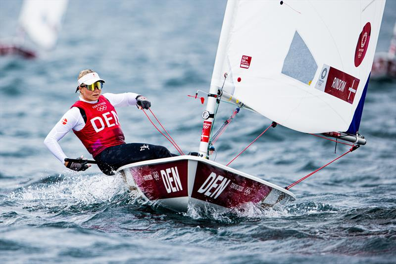 Anne-Marie Rindom (DEN) on Tokyo 2020 Olympic Sailing Competition Day 3 - photo © Sailing Energy / World Sailing