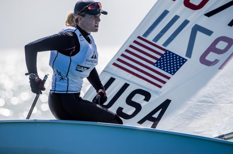 Paige Railey (W) Laser Radial - World Cup Series Miami - photo © Jesus Renedo / Sailing Energy / World Sailing