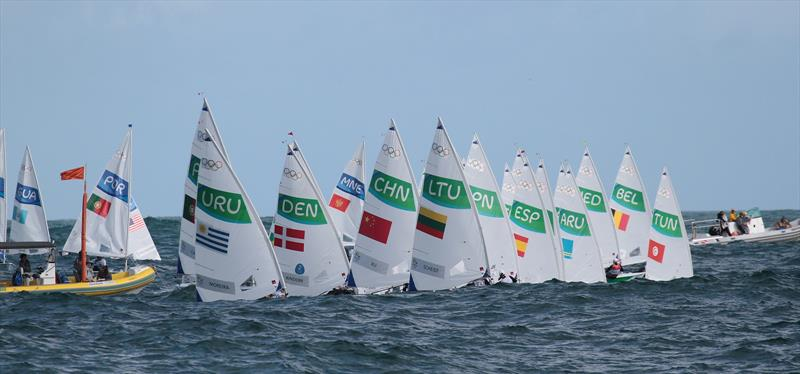The Laser Radial is one of four classes under review for Anti-Trust regulation compliance - photo © Richard Gladwell