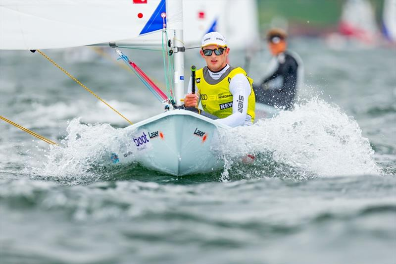 Zac Littlewood (Australia) is the new World Champion in the Laser Radial. - photo © Sascha Klahn / Kieler Woche