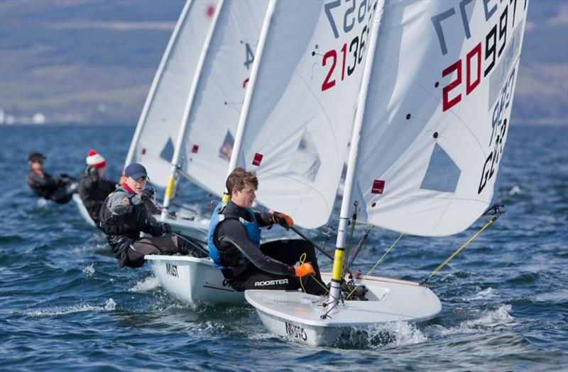 Jake Bowhay in action - photo © Marc Turner / RYA