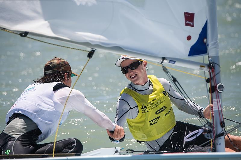 Josh Armit (NZL) (Laser)  - Youth Sailing World Championships, Corpus Christi, Texas, USA. July 14-21, 2018 - photo © Jen Edney / World Sailing