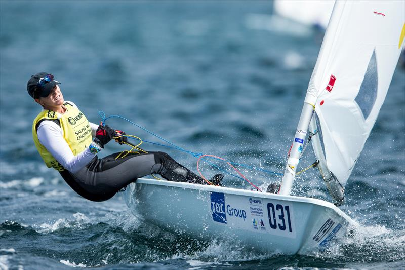 Paige Railey (USA) - Laser Radial - Day 3 - Hempel Sailing World Championships, Aarhus, Denmark - photo © Sailing Energy