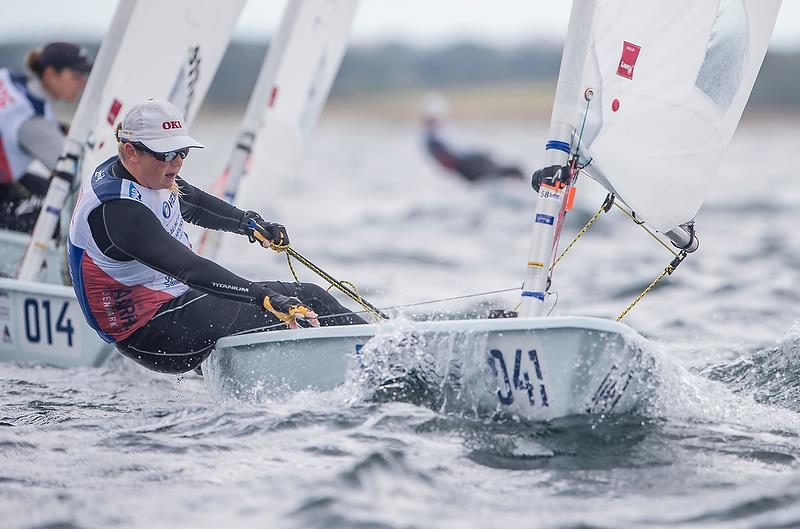 Susannah  Pyatt (NZL) - Laser RadialDay 4 - Hempel Sailing World Championships, Aarhus - August 2018 - photo © Sailing Energy / World Sailing