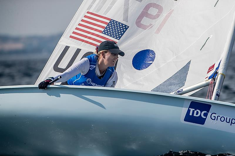 Paige Railey (USA) - Laser Radial - Day 7 - Hempel Sailing World Championships, Aarhus, Denmark, August 7, 2018 - photo © Sailing Energy / World Sailing