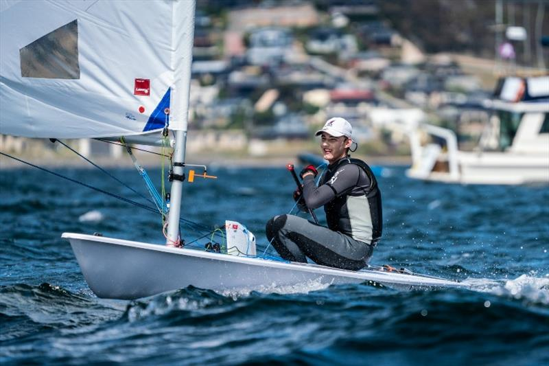 Frazer Brew (Laser Radial, QLD) - Day 2, Australian Youth Championships 2019 - photo © Beau Outteridge