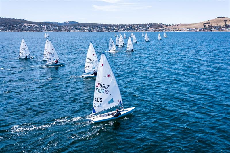 Laser Radial - 2019 Australian Youth Championships - photo © Beau Outteridge
