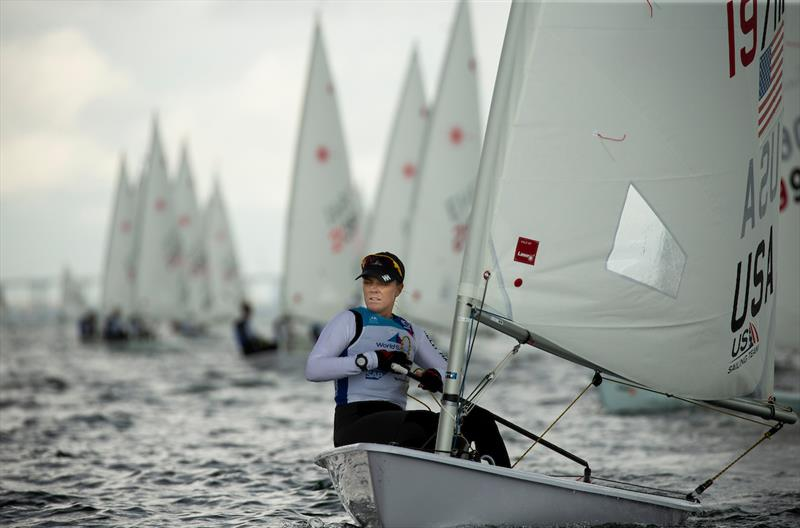 Paige Railey - 2019 Hempel World Cup Series Miami - photo © Pedro Martinez / Sailing Energy / World Sailing