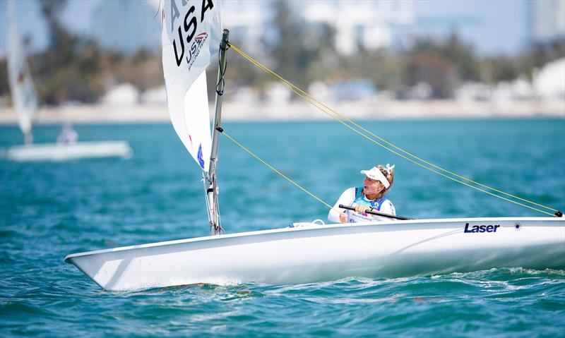Erika Reineke - 2019 Hempel World Cup Series Miami - photo © Tomas Moya / Sailing Energy / World Sailing