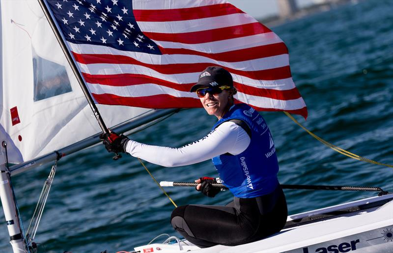 Paige Railey - 2019 Hempel World Cup Series Miami - photo © Pedro Martinez / Sailing Energy / World Sailing