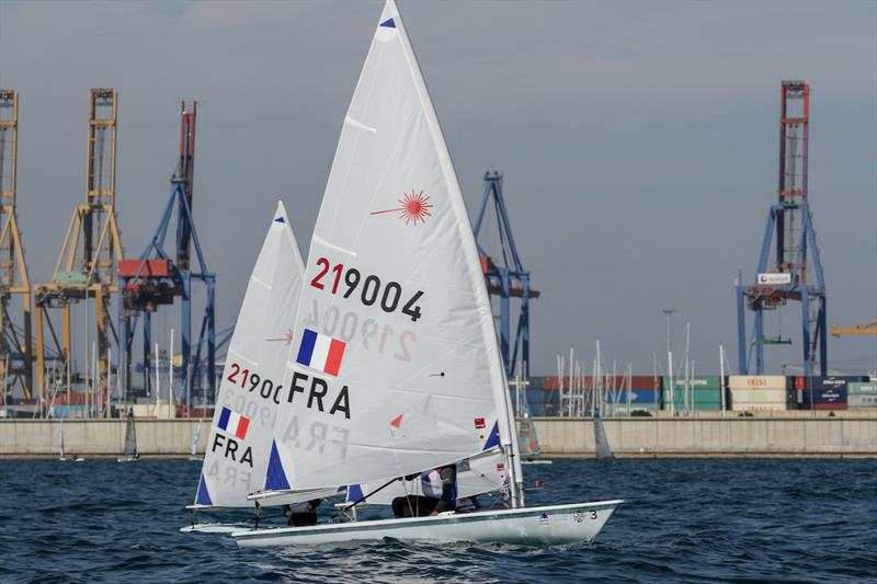 Laser Radial - Equipment selection Sea-trials - 2024 Olympic Sailing Competition  - Men's and Women's One Person Dinghy Events. - photo © Daniel Smith - World Sailing
