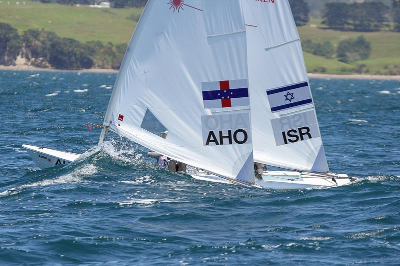 Laser Radial - 2016 Youth Worlds, Day 1 Torbay Sailing Club - photo © Richard Gladwell
