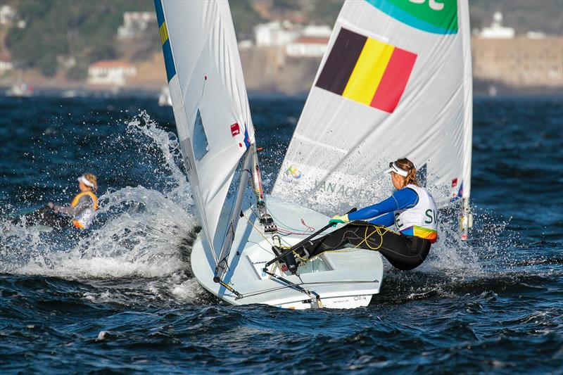 Josefin Olsson (SWE) - Laser Radial - Rio Olympic Regatta 2016 - photo © Richard Gladwell