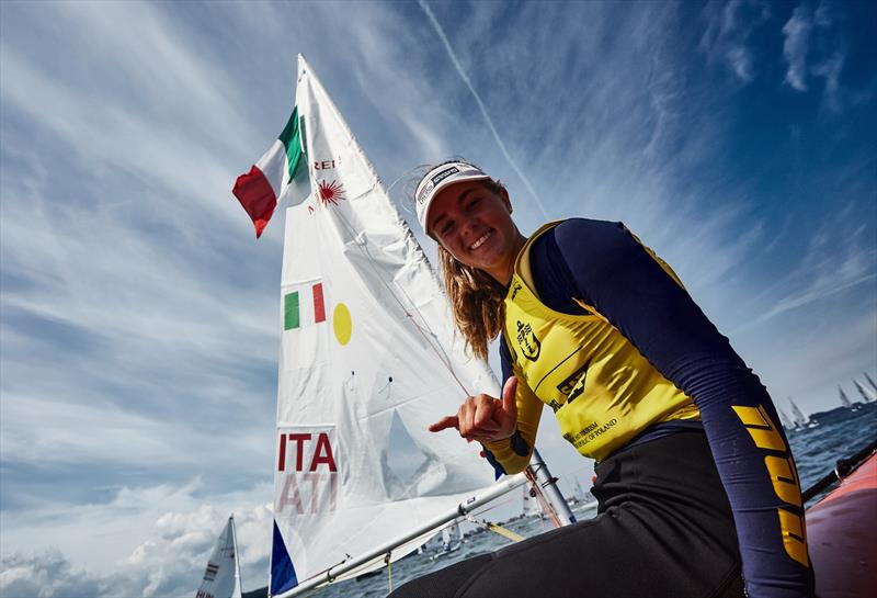 Italy's Chiara Benini Floriani - Laser Radial Women - Hempel Youth Sailing World Championships Day 5 photo copyright Robert Hajduk, Robert Hajduk / World Sailing taken at  and featuring the Laser Radial class