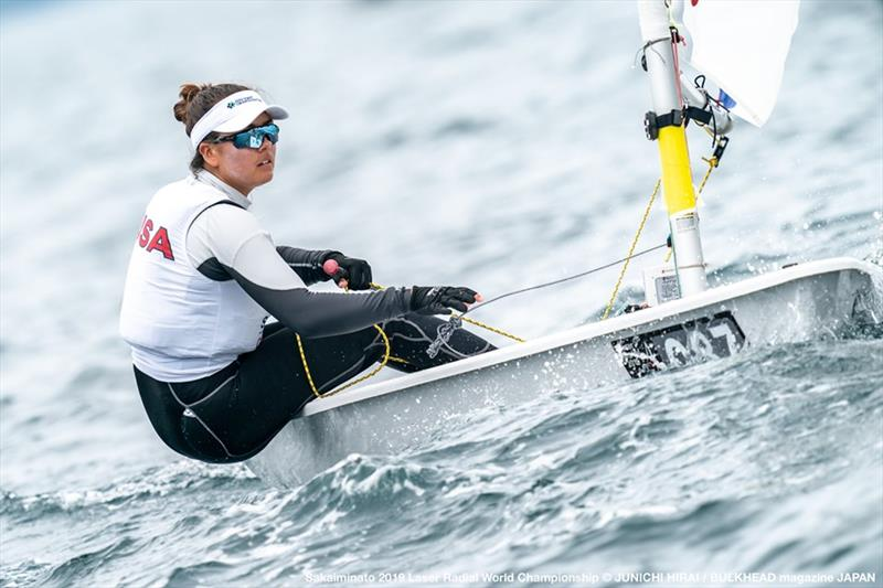 Charlotte Rose - 2019 Laser Radial World Championships - photo © Junichi Hirai / Bulkhead Magazine Japan