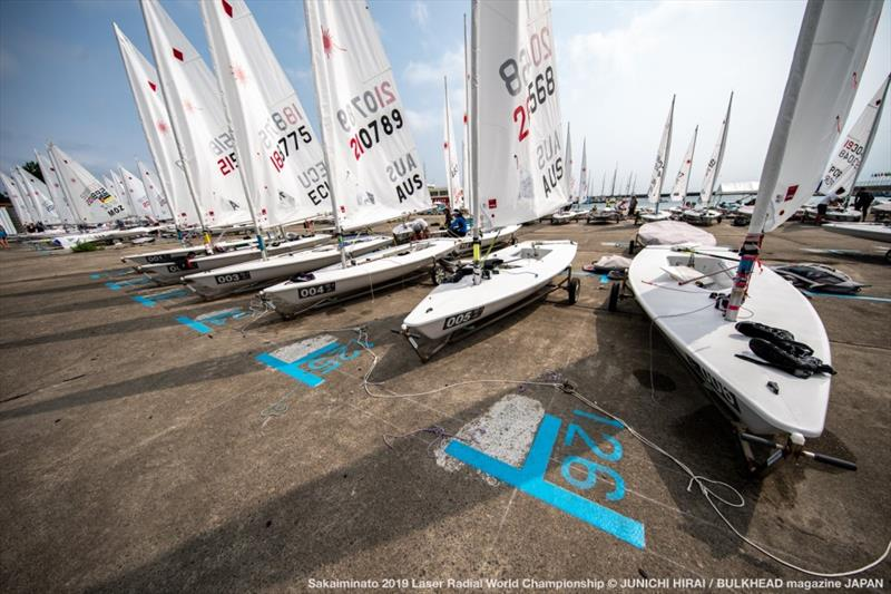 2019 Laser Radial World Championships - photo © Junichi Hirai / Bulkhead Magazine Japan