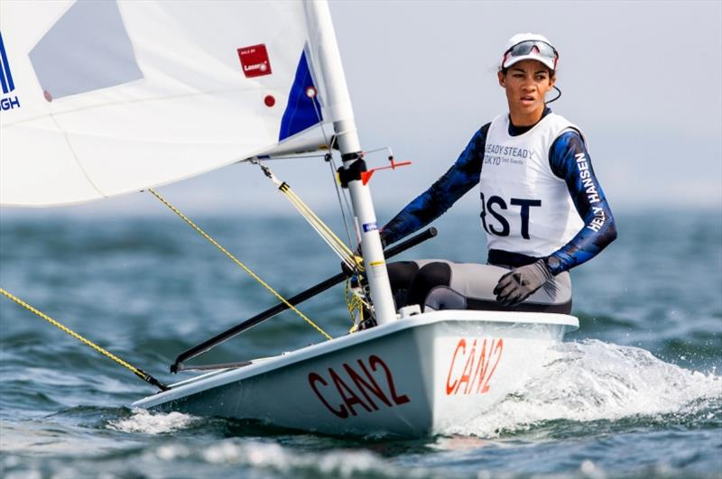 Sarah Douglas - Ready Steady Tokyo Olympic Test Event - photo © Pedro Martinez / Sailing Energy / World Sailing