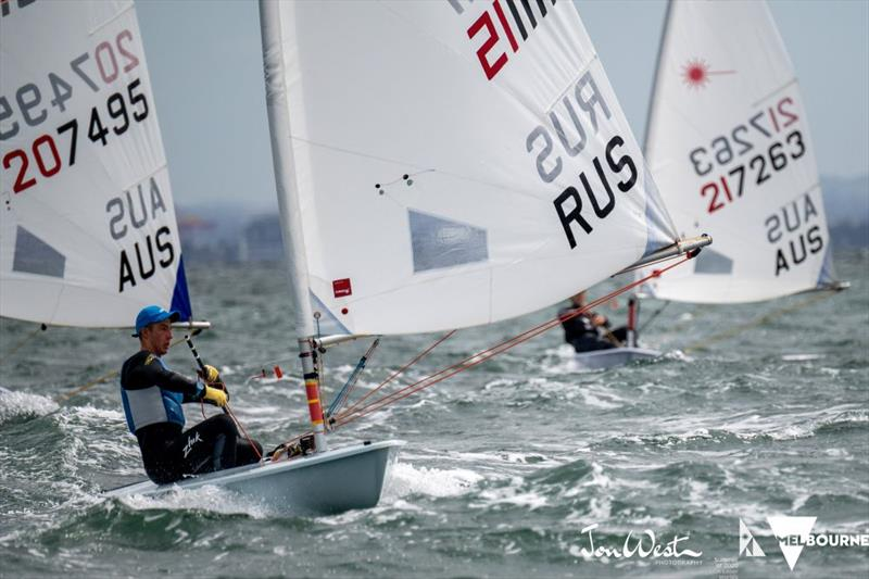 Daniil - 2020 ILCA Women's Laser Radial World Championships - photo © Jon West Photography