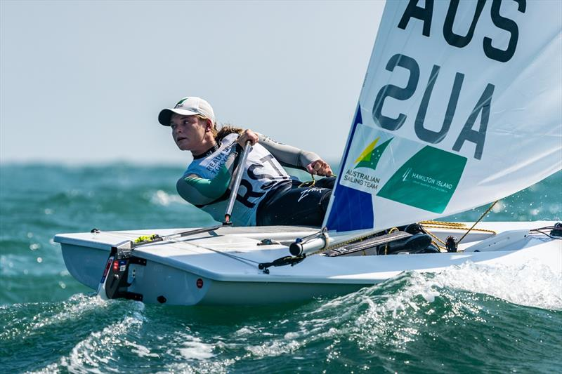 Mara Stransky - photo © Beau Outteridge for Australian Sailing Team