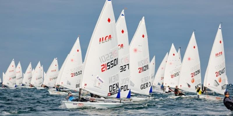 Sailors from 17 nations fight for the Kieler Woche title. - photo © www.segel-bilder.de