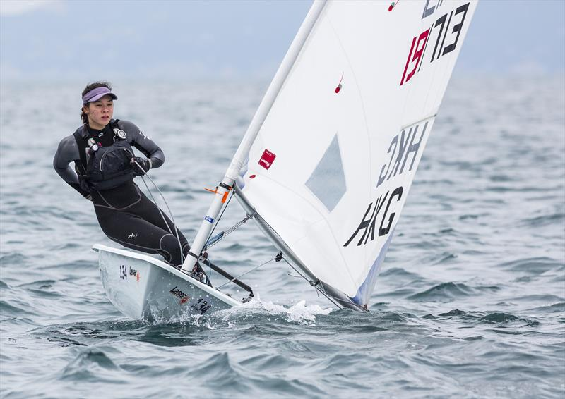 Stephanie Norton (HKG, RHKYC) qualifies for the Tokyp Olympics photo copyright Guy Nowell/RHKYC taken at  and featuring the Laser Radial class