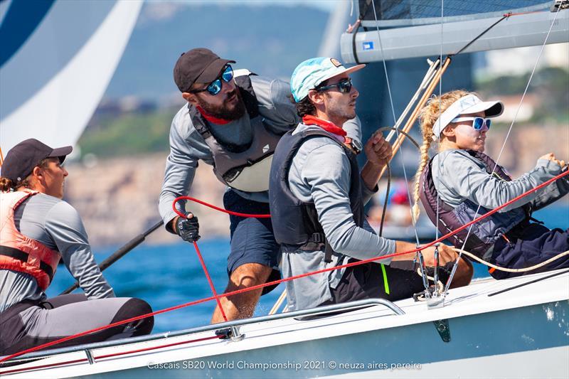 SB20 World Championship at Cascais day 1 - photo © Neuza Aires Pereira