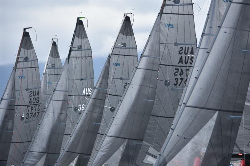 SB20 AUS fleet - 2019 SB20 Australia's Summer Pennants - photo © Jane Austin