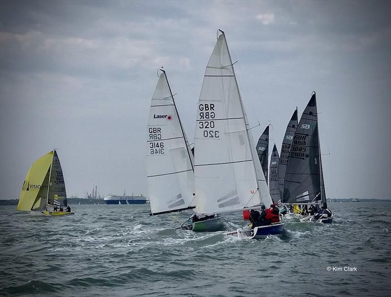 SB20 UK National Championships hosted by the Royal Southern YC  - photo © Kim Clark