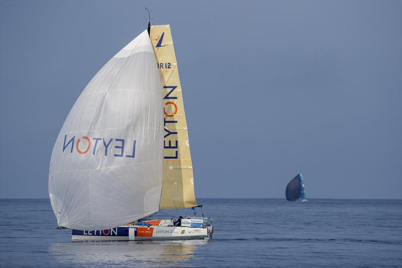 Sam Goodchild (Leyton) during 51st La Solitaire du Figaro Stage 3 photo copyright Alexis Courcoux taken at  and featuring the Figaro class