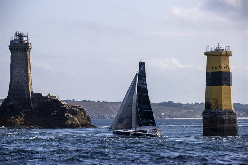 52nd La Solitaire du Figaro Stage 2 - Alan Roberts - Seacat Services - photo © Alexis Courcoux