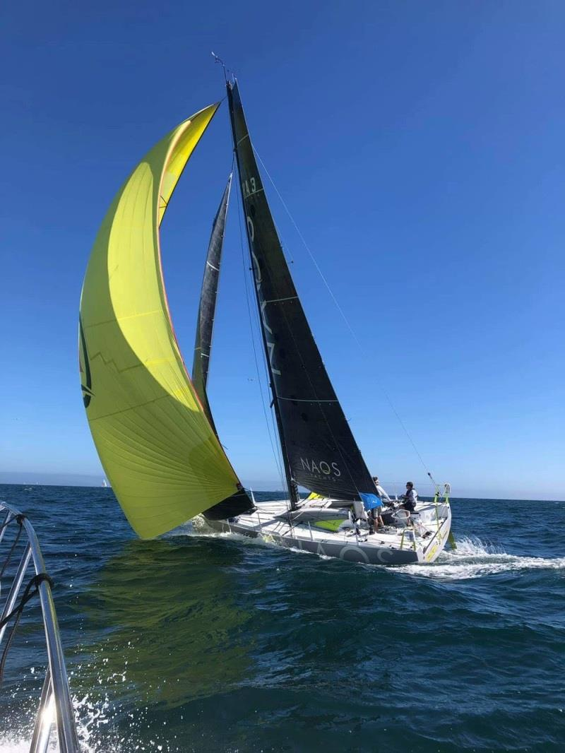 Figaro Beneteau 3 - Charles Devanneaux of NAOS Yachts photo copyright Colligo Marine taken at  and featuring the Figaro class