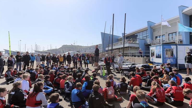 WPNSA sailors' briefing - photo © Phil Jackson