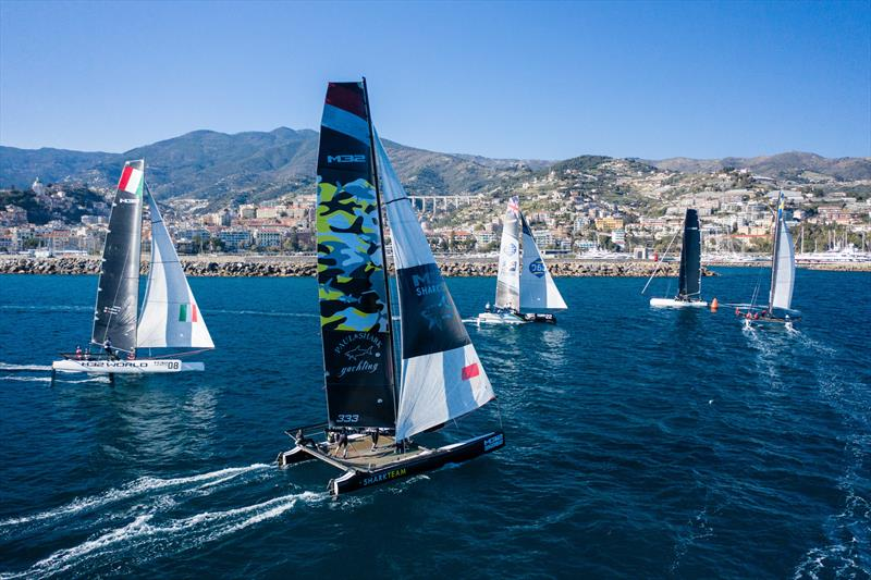 Vikings on the ascent at the M32 European Series Sanremo warm-up