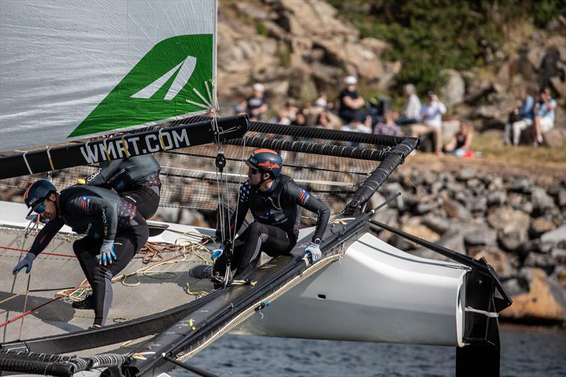 Taylor canfield (USA) - Day 4 - GKSS Match Cup Sweden - Match Racing World Championship, July 7, 2019 - photo © Mathias Bergeld/World Match Racing Tour