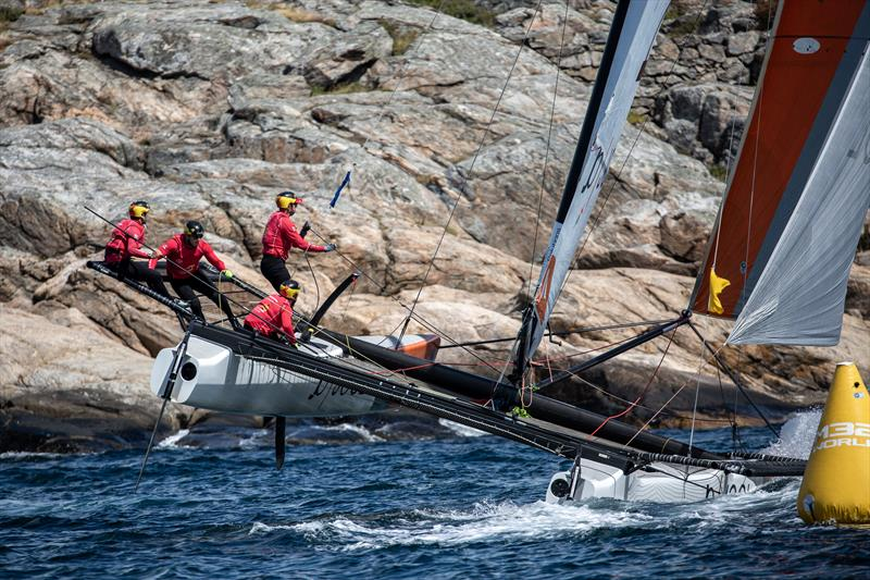 Phil Robertson (NZL) - Day 4 - GKSS Match Cup Sweden - Match Racing World Championship, July 7, 2019 - photo © Mathias Bergeld/World Match Racing Tour