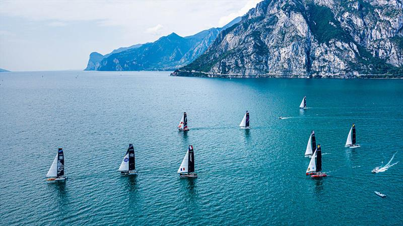 As always Lake Garda presents the most spectacular of backdrops for racing. - photo © M32 World / Drew Malcolm