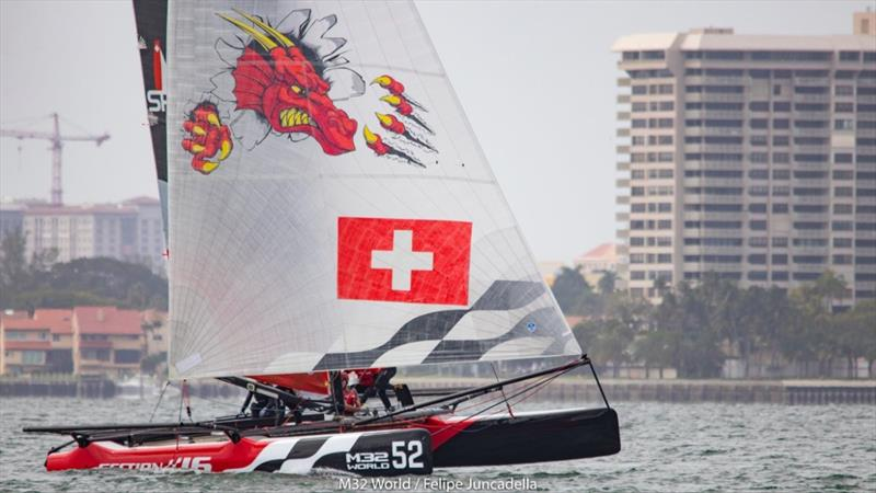 Richard Davies in Section 16 finishing 3rd in Miami Winter Series 2 - photo © Felipe Juncadella
