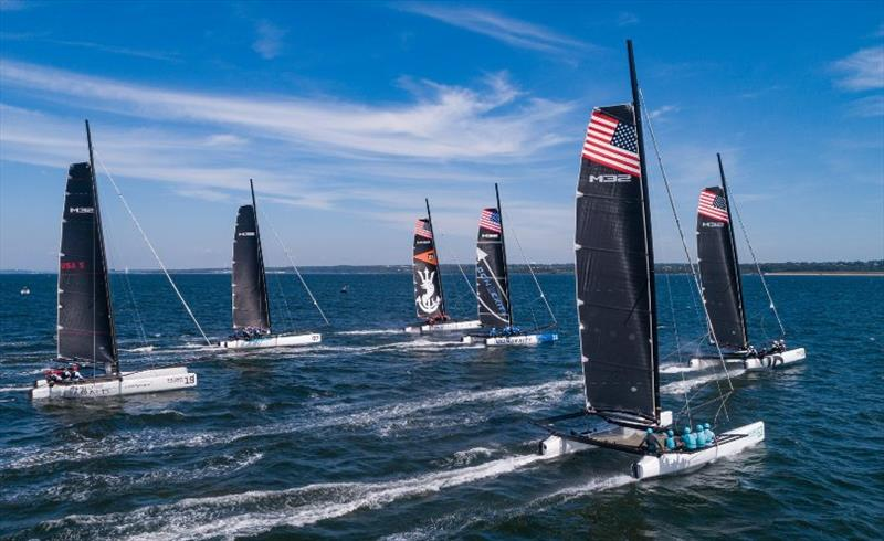 Midtown Cup in Newport in August 2020. The series continues in September and October. photo copyright M32 World / Stephen Cloutier taken at  and featuring the M32 class